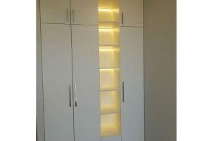 Шкаф с подсветкой в детскую комнату - Мебельная фабрика «Таита»