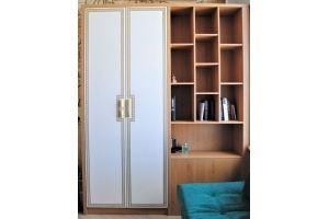 Шкаф с полками для книг R009 - Мебельная фабрика «BLISS-HOME»