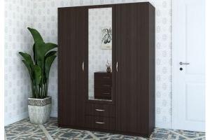Шкаф с распашными дверями Комфорт - Мебельная фабрика «Лагуна»