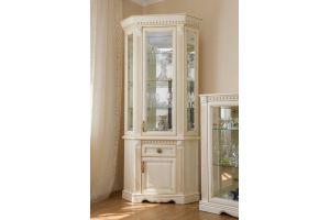 Шкаф с витриной угловой Афина - Мебельная фабрика «Ивна»