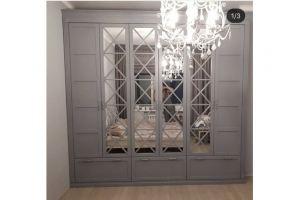 Шкаф с зеркалами Монталия 162 - Мебельная фабрика «Монолит»