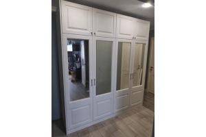 Шкаф с зеркалами распашной четырехдверный - Мебельная фабрика «Алмаз-мебель»