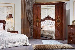 Шкаф с зеркалом Аделаида - Мебельная фабрика «Арида»