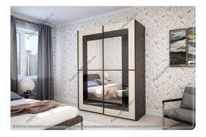 Шкаф с зеркалом Риал - Мебельная фабрика «Пеликан»