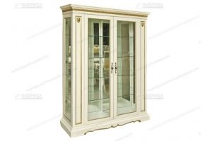 Шкаф сервант Милан 130 - Мебельная фабрика «Фабрика натуральной мебели»