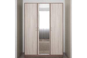 Шкаф ШР 3 1 с зеркалом Соната - Мебельная фабрика «Ваша мебель»