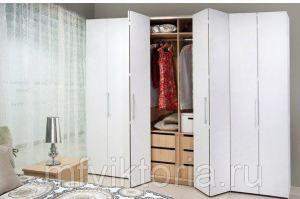 Шкаф со складными дверями система Hettich - Мебельная фабрика «Виктория»