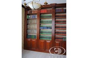 Шкаф-стеллаж комбинированный - Мебельная фабрика «Элмика»