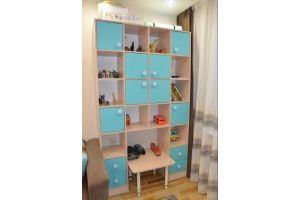 Шкаф-стеллаж в детскую - Мебельная фабрика «SOVA»