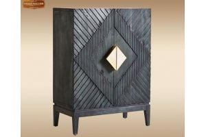 Шкаф стильный Графит - Мебельная фабрика «Лидер Массив»