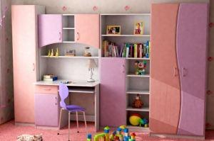 Шкаф стол детский 7 - Мебельная фабрика «Мебельный Квартал»