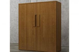 Шкаф Торрент из шпона дуба - Мебельная фабрика «Лидер Массив»