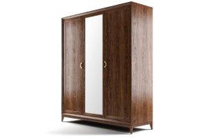 Шкаф Тоскана  3-х створчатый с зеркалом W6003/W - Мебельная фабрика «NEXTFORM»