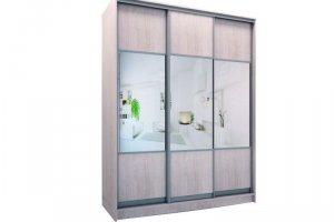 Шкаф трехдверный комби 1 - Мебельная фабрика «Хомма»