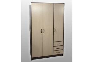 Шкаф трехдверный с ящиками СП-31 - Мебельная фабрика «SPSМебель»