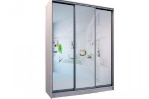 Шкаф трехдверный с зеркалами - Мебельная фабрика «Хомма»