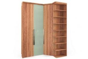 Шкаф трехдверный угловой с зеркалом - Мебельная фабрика «Parra»