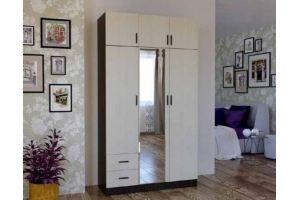 Шкаф трехстворчатый с антресолями - Мебельная фабрика «Первомайское»