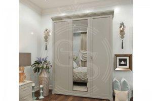 Шкаф трехстворчатый в  Спальню Американская коллекция - Мебельная фабрика «Фабрика авторской мебели GS»