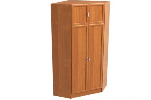 Шкаф угловой 2-х дверный с антресолью - Мебельная фабрика «Континент»