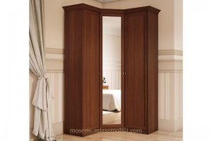 Шкаф угловой для платья Екатерина - Мебельная фабрика «Миасс Мебель»