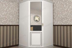 Шкаф угловой Италия 440 - Мебельная фабрика «Фабрика натуральной мебели»