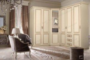 Шкаф угловой Италия 600 - Мебельная фабрика «Фабрика натуральной мебели»
