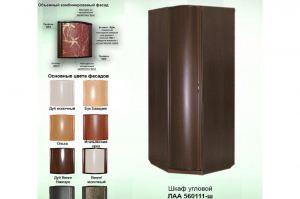 Шкаф угловой объемные фасады - Мебельная фабрика «КрайМебель-Краснодар»