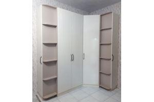 Шкаф угловой ПВХ с фрезеровкой - Мебельная фабрика «Вектор-М»
