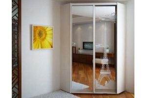 Шкаф угловой с зеркалами - Мебельная фабрика «Гигмебели»