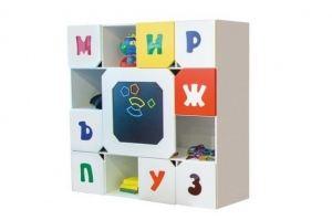 Шкаф в детскую Абвгдейка - Мебельная фабрика «Мандарин»