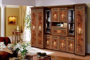 Шкаф в гостиную Карина 3 - Мебельная фабрика «Ярцево»