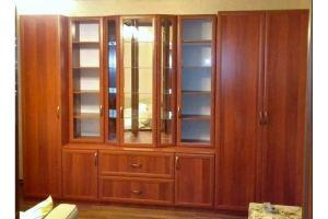 Шкаф в гостиную МДФ - Мебельная фабрика «Фактура-Мебель»