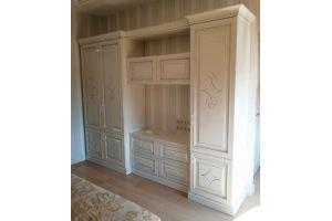 Шкаф в гостиную R025 - Мебельная фабрика «Blessed-Home»
