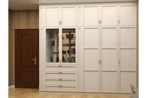 Шкаф в гостиную распашной - Мебельная фабрика «ПАТЭ»
