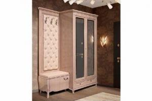 Шкаф в прихожую комбинированный ГМ 6343-01 - Мебельная фабрика «Гомельдрев»