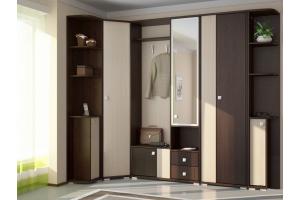 Шкаф в прихожую с зеркалом - Мебельная фабрика «Булат»