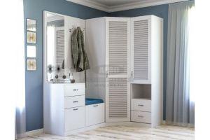 Шкаф в прихожую серия классика ПКЛ7 - Мебельная фабрика «ALDO»