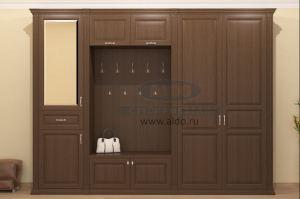 Шкаф в прихожую серия моцарт ПМ1 - Мебельная фабрика «ALDO»
