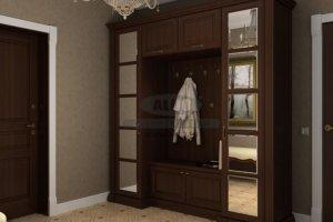 Шкаф в прихожую серия моцарт ПМ2 - Мебельная фабрика «ALDO»