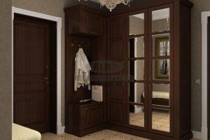 Шкаф в прихожую серия моцарт ПМ3 - Мебельная фабрика «ALDO»