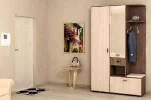 Шкаф в прихожую Визит-7 - Мебельная фабрика «CALPE»