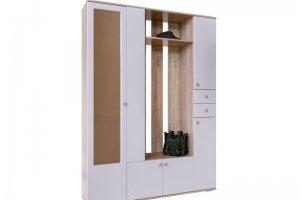 Шкаф в прихожую Визит Дуб сонома - Мебельная фабрика «CALPE»