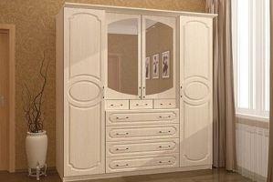 Шкаф в спальню Гавриил - Мебельная фабрика «Мир Нестандарта»