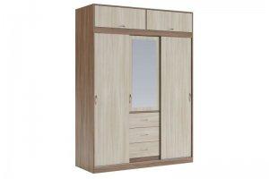 Шкаф в спальню Ларго 1 - Мебельная фабрика «КБ-Мебель»