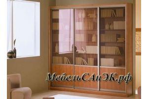 Шкаф-витрин 03 - Мебельная фабрика «САнЭК»