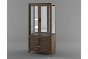 Шкаф витрина Бостон - Мебельная фабрика «Вилейская мебельная фабрика»