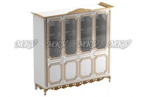Шкаф-витрина четырехдверная - Мебельная фабрика «Выбор»