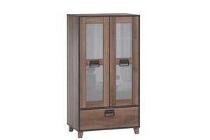 Шкаф-витрина Эссен 238315 - Мебельная фабрика «Woodcraft»