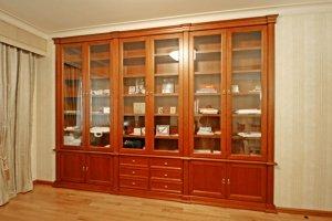 Шкаф-витрина книжный - Мебельная фабрика «Мебель Продакшн»